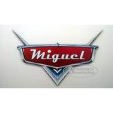 Placa Painel Personalizada Logo Macqueen Carros 60x38cm