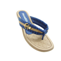 Sandália Rasteirinha Azul Chinelo Piccadilly 500109