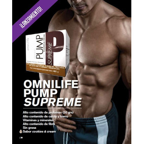 Omnilife Pump Supreme Caja 12 Sobres