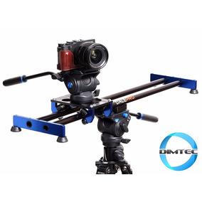 Mini Slider Dolly Dimtec Fast P/ Câmera Dslr E Filmadora