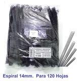 Espirales Continuos De Encuadernar 14mm Paq. 100 Espirales.