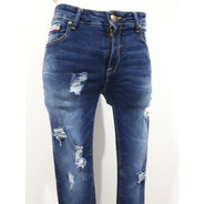 Pantalón Collors Couture Mez Corte Skinny Strech 3354