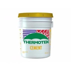 Cubeta 19 Lts Cemento Plástico Thermotek Resanador