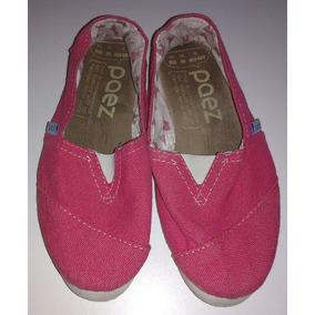 Alpargatas Paez Numero 35 Fucsia Zpm2018 Zapatos Mujer