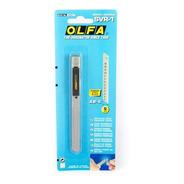 Cutter Olfa Svr-1 De 9mm Mango Acero Inoxidable