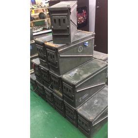 Cajas Militares Municiones Herméticas De 46 Cm X 16 Cm X 25