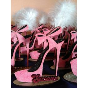 Zapato Brillante Souvenirs 15 Años 50 Años Mujer Con Nombre