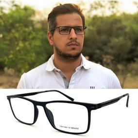 Armação Oculos Grau Original Masculino Ea1183 Armani Acetato. R  100 21f80cb272