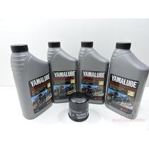 Kit Troca De Oleo E Filtro Fram Yamaha Xj6 (yamalube 20w-50)