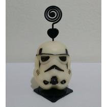 35 Lembrancinhas Porta Retrato/recado Stormtrooper Star Wars