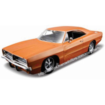 Maisto 1/25 Dodge Charger ´69 Diecast Metal P/armar Decorado