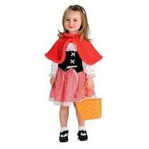 Disfraz Niño Caperucita Roja De Vestuario, Para Niños Peque