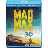 Blu-ray 3d Mad Max Fury Road / Br 3d + 2d