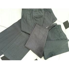 24a2a7fb0031b Pantalon Gris Colegio De Sarga - Ropa y Accesorios para Niños en ...
