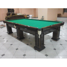 Mesa Bilhar / Sinuca/ Snooker Profissional 3,10 X 1,68 Mts