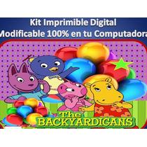 Kit Imprimible Backyardigans Fiesta Cumpleaño Princesa