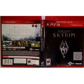 Jogo The Elder Scrolls V Skyrim Ps3 Seminovo Açao