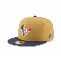 New Era 59fifty Houston Texans Nfl Gold Crown Gorra 7 1/8