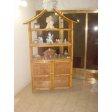 Mueble Ceibo Esquinero De Ratan