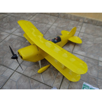 Aeromodelo Rc Brushless Pitts Curtis - Ganha 1 De Brinde!