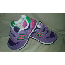Zapatillas New Balance 574 Nenas - Velcro -