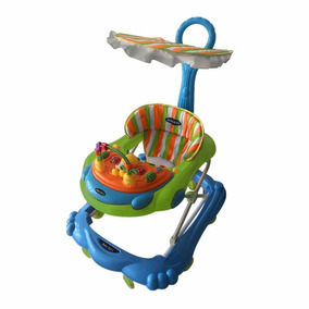 Baby Kits - Andador Para Bebé Abejita Celeste Con Verde