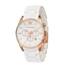 49b4d3fdd95 Relogio Emporio Armani Feminino Branco - Relógios De Pulso no ...