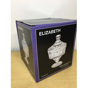 Bombonera Dulcero Cristal Elizabeth C4