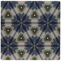 3drose Llc 8 X 8 X 0.25 Inches Mouse Pad, Gray Stars -azul
