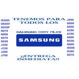 Cert Samsung Clean(venezuela Y Cualquier Parte Del Mundo)