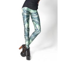 Legging Importada - Estampa Black Milk - One Dollar Note