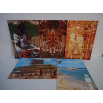 Lote - Salvador (bahia) 5 Cartões Postais