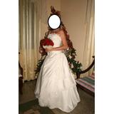 Precioso Vestido De Novia, Modelo De La Firma Sposa,