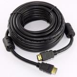 Cable Hdmi V1.4 Oro 3d 4k 1080p Filtro Reforzado Led 1° Htec