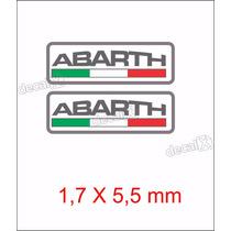 Emblema Adesivo Resinado Fiat Abarth Esseesse Coluna Rs10