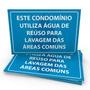 Placas De Sinalização Meio Ambiente E301 45x30 4x0 1 Unid