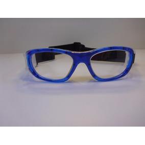Lentes Graduables Miopia Goggles Para Niño Azul Con Amarillo