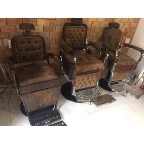 Cadeiras De Barbeiro Restauradas Pronta Entrega Frete Grátis