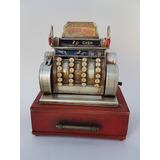 Maquina Registradora En Miniatura Decorativa