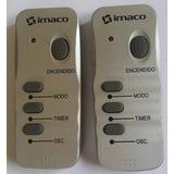 Control Remoto De Termoventilador Imaco Tc3116