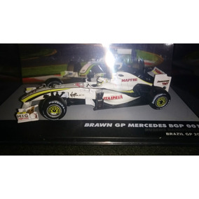 Rubens Barrichello - Brawn 1:43 - Customizada Gp Brasil