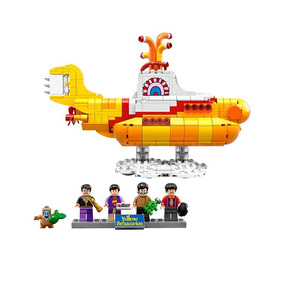 The Beatles Yellow Submarine Blocos De Montar Tipo Lego
