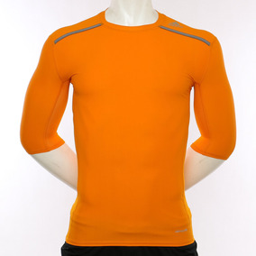 Remera Techfit Chill Orange adidas Sport 78 Tienda Oficial