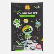 Set Para Pintar Cosmos Colores De Neon - Tiger Tribe
