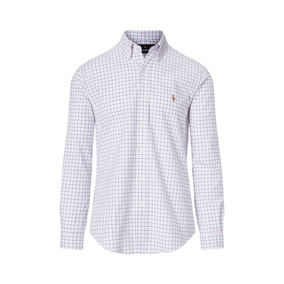 Camisa Social Polo Ralph Lauren Tamanho Ggg / Xxl Custom Fit