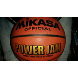 Balón De Basketball Mikasa Power Jam 7 Semi-cuero