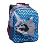 Mochila Denlex Infantil Tubarão Escolar Creche Passeio