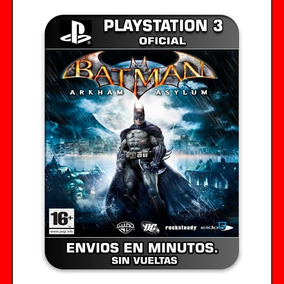 Batman Arkham Asylum Ps3 :: Digital :: En Stock Pedilo Ya