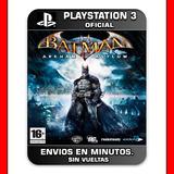 Batman Arkham Asylum Ps3 :: Digital :: En Stock Pedilo Ya