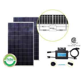 Kit Interconexion Cfe 2 Paneles Solares 260 Watts Micro Inv